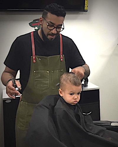 Danny, Barber at All Pro Sports Barbershop